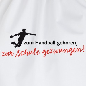 Teenagershirt Zum Handball geboren. Herrenhandball - Turnbeutel