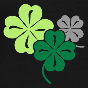 Green Clover Umbrellas - Men's Premium T-Shirt