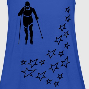 ski cross-country T-Shirts - Women's Tank Top by Bella