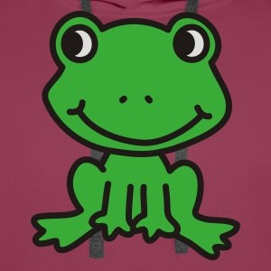 Happy Little Frog - Men's Premium Hoodie