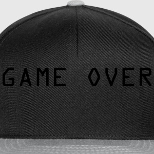 Game Over Skjorter - Snapback-caps