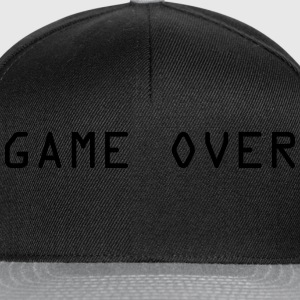 Game Over Camisetas - Gorra Snapback