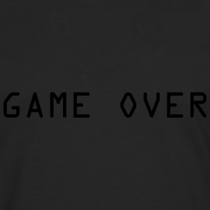 Game Over T-shirts - Herre premium T-shirt med lange ærmer