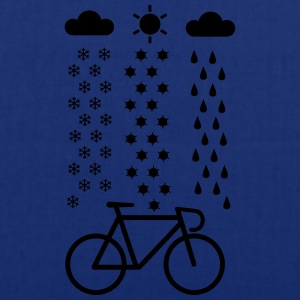 Cycling In All Seasons T-Shirt - Tote Bag