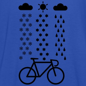 Cycling In All Seasons T-Shirt - Women's Tank Top by Bella