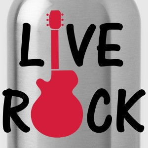 Live Rock ! T-Shirts - Water Bottle