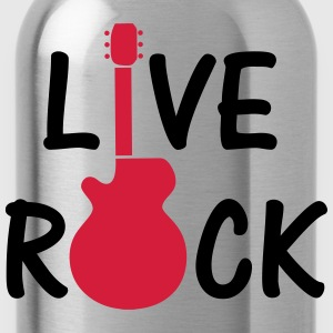 Live Rock ! Shirts - Drinkfles