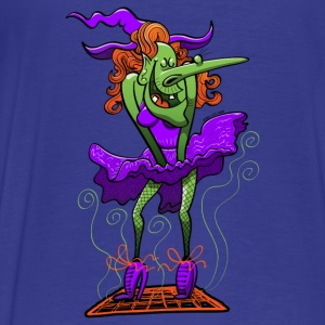 Halloween Sexy Witch Hoodies - Men's Premium T-Shirt