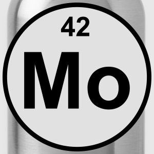 Element 42 -  (molybdenum) - Minimal-color Miś  - Bidon