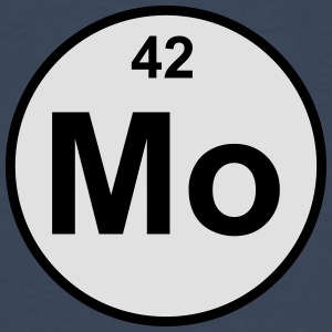 Element 42 -  (molybdenum) - Minimal-color Bamse - Premium langermet T-skjorte for menn