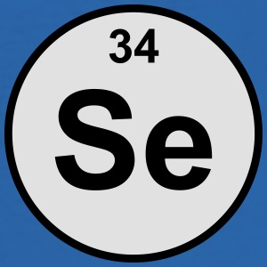 Selenium (Se) (element 34) - Men's Slim Fit T-Shirt