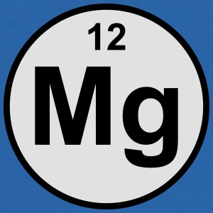 Magnesium (Mg) (element 12) - Men's Slim Fit T-Shirt