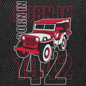 altgedienter Jeep - Born in 1942 Shirts - Snapback cap