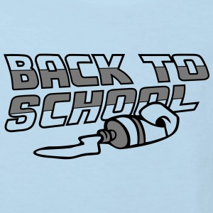 Back To School T-shirts - Ekologisk T-shirt barn