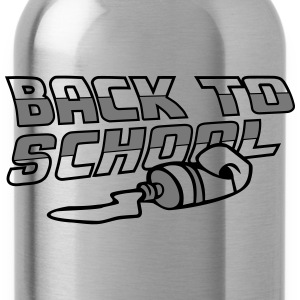 Back To School Shirts - Water Bottle