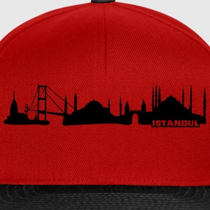 Istanbul Skyline Tee shirts - Casquette snapback