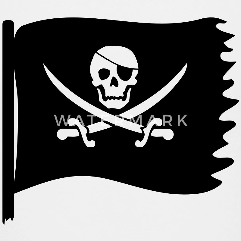 piraten flagge T-Shirts - Teenager Premium T-Shirt