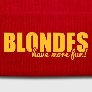 Blondes have more fun! Borse & zaini - Cappellino invernale