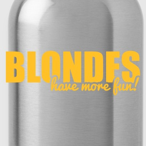 Blondes have more fun! Tassen & rugzakken - Drinkfles