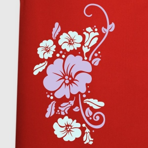 Red floral Bags  - Cooking Apron