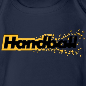 Handball Hoodies - Organic Short-sleeved Baby Bodysuit