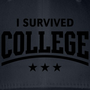 I Survived College T-Shirts - Flexfit Baseball Cap