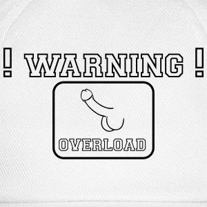 warning overload T-Shirts - Baseball Cap