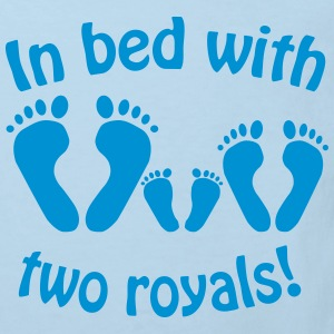 In bed with two royals, Royal Baby, Royal Body Shirts - Kids' Organic T-shirt