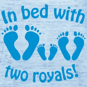 In bed with two royals, Royal Baby, Royal Body Shirts - Women's Tank Top by Bella