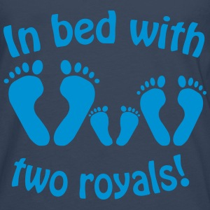In bed with two royals, Royal Baby, Royal Body Shirts - Men's Premium Longsleeve Shirt