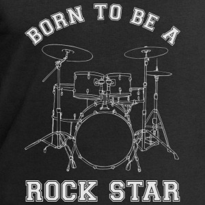 Born To Be A Rock Star Drums T-Shirts - Männer Sweatshirt von Stanley & Stella