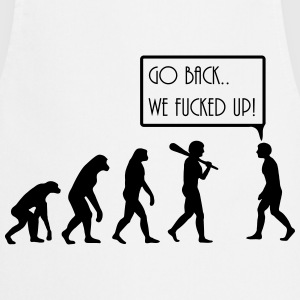 evolution T-shirts - Forklæde