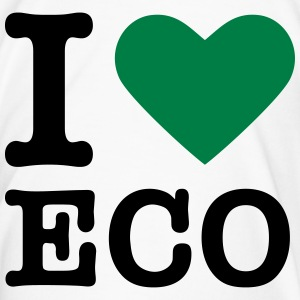Green heart / I love Ecology Bottles & Mugs - Men's Premium T-Shirt
