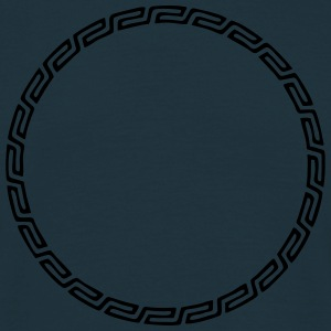 Frame, Mayan style, your design, text, Celtic Sweaters - Mannen T-shirt