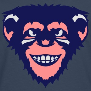 singe animal chimpanze monkey 107 Sweat-shirts - T-shirt manches longues Premium Homme