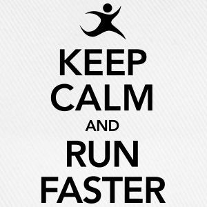 Keep Calm And Run Faster Tee shirts - Casquette classique