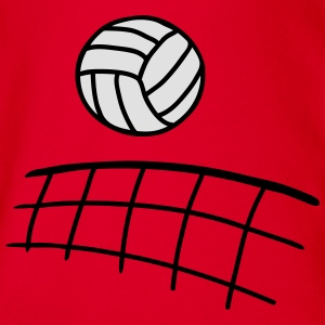Volleyball - 2 T-Shirts - Baby Bio-Kurzarm-Body