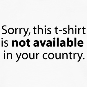 not available in your country Shirts - Men's Premium Longsleeve Shirt