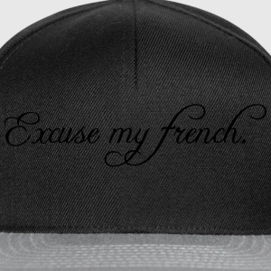 excuse my french Vesker & ryggsekker - Snapback-caps