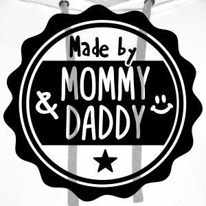 Made by Mommy and Daddy Pullover & Hoodies - Männer Premium Hoodie