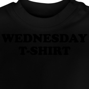 wednesday t-shirt T-shirts - Baby-T-shirt