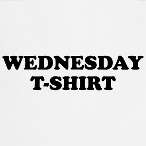 wednesday t-shirt T-shirts - Forklæde
