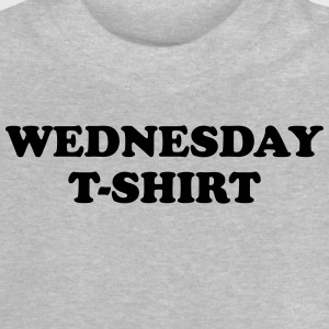 wednesday t-shirt Tee shirts - T-shirt Bébé