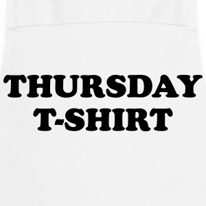 thursday t-shirt T-shirts - Forklæde