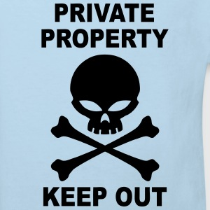 private property keep out Shirts - Kids' Organic T-shirt