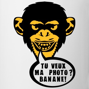 singe tu veux ma photo banane expression Sweat-shirts - Tasse