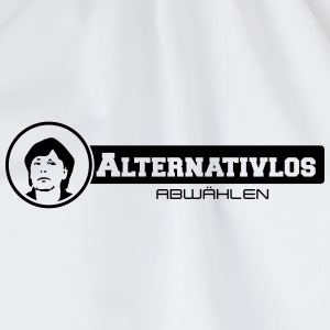 merkel alternativlos abwählen Bottles & Mugs - Drawstring Bag
