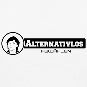 merkel alternativlos abwählen Bottles & Mugs - Men's Premium T-Shirt