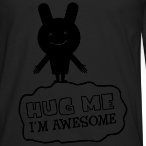 Hug Me - I´m Awesome Tee shirts - T-shirt manches longues Premium Homme
