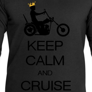 keep calm and cruise T-Shirts - Men's Sweatshirt by Stanley & Stella